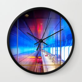 City metro station Hamburg Wall Clock