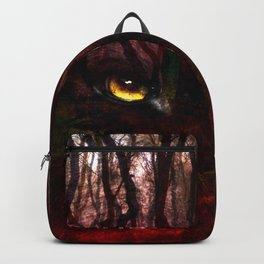 The Wolf In The Woods Backpack