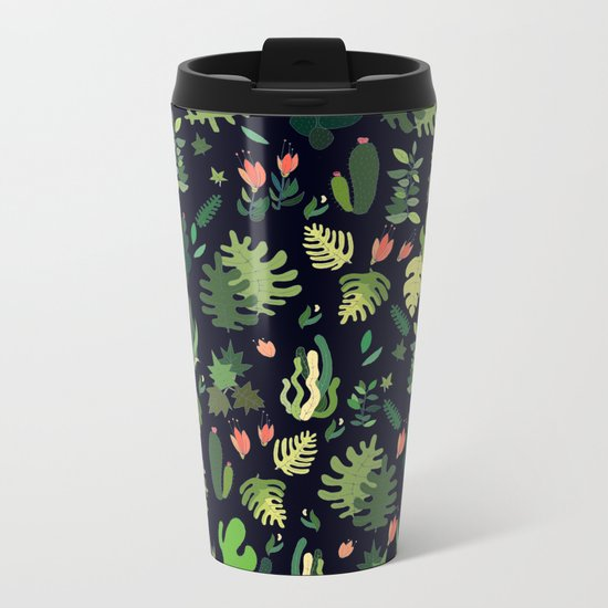 green garden! fresh Metal Travel Mug