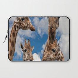 giraffes family Laptop Sleeve