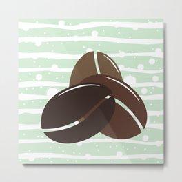 Beans Metal Print