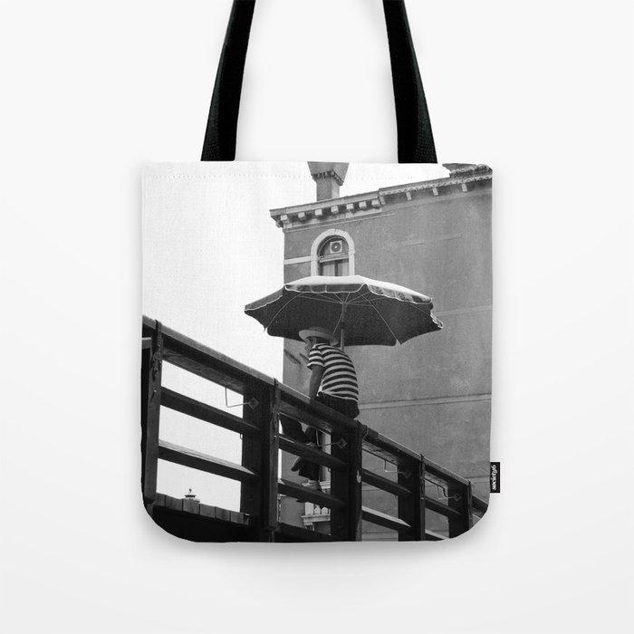 Gondolier in Venice Tote Bag