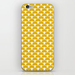 Dragon Scales Mustard iPhone Skin