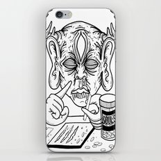 death is a junkie iPhone & iPod Skin