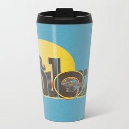 In Love Metal Travel Mug