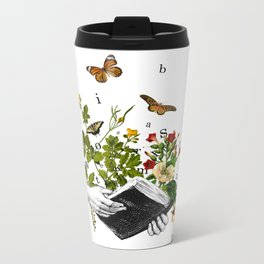 Look in a Book Metal Travel Mug