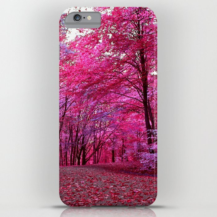 purple forest IV iPhone Case