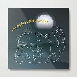 Promise - Big Cat Metal Print