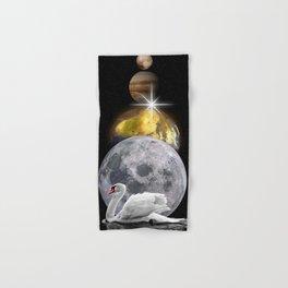 Planets Swan by GEN Z Hand & Bath Towel