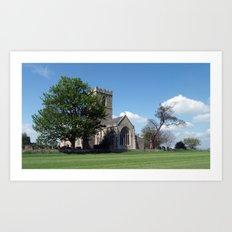 The Parish Church of St Andrew Art Print