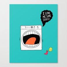 Sock Eater 1000 Canvas Print
