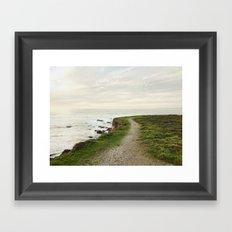 California Coast Trail Framed Art Print