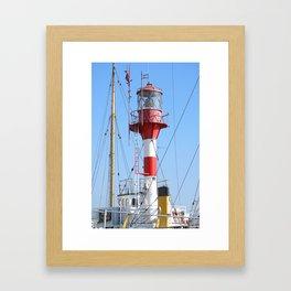 West-Hinder Lighthouse Framed Art Print