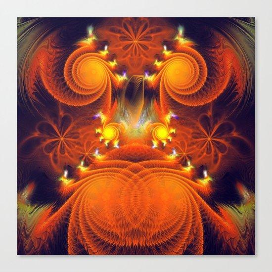 Full of Energy Canvas Print