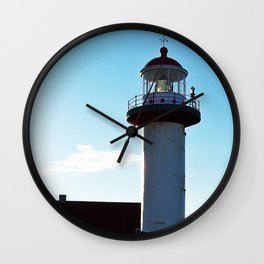 Lighthouse Cap de Madelaine Wall Clock