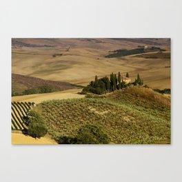 Val D'Orcia - Tuscany - Italy Canvas Print