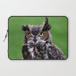 Owl green Laptop Sleeve
