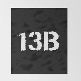 13B Cannon Crewmember Throw Blanket