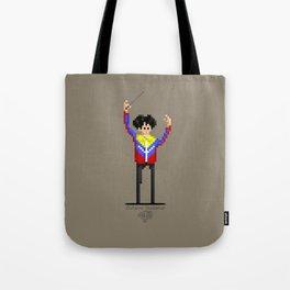 Gustavo Dudamel / Pixel Art Tote Bag