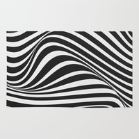 wave Area & Throw Rugs featuring Wave by Tracie Andrews