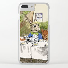 "Lewis Carroll, "" Alice's Adventures in Wonderland "" Clear iPhone Case"