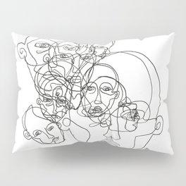 Faces Pillow Sham