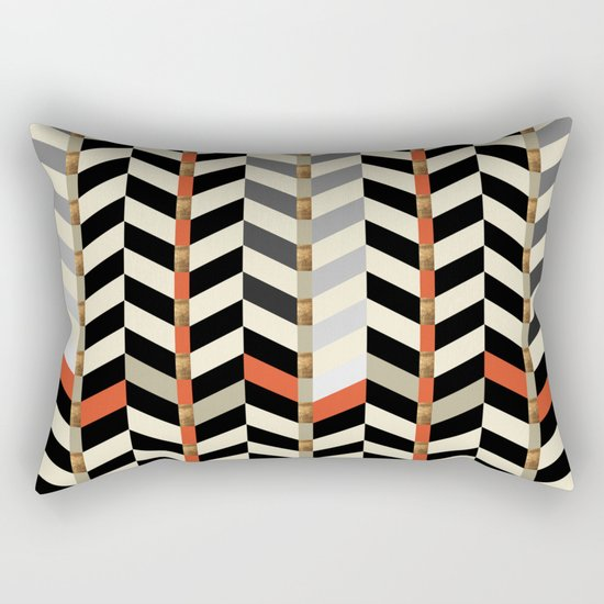 Geometric#29 Rectangular Pillow