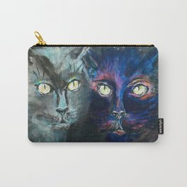 They Meet in the Night (Cats) Carry-All Pouch