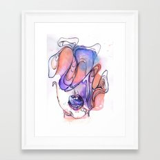 Dirty Thoughts Framed Art Print