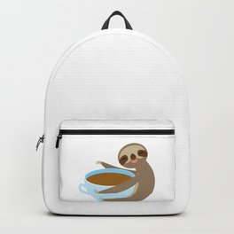 sloth & coffee 2 Backpack