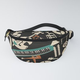 Jazz Rhythm (negative) Fanny Pack