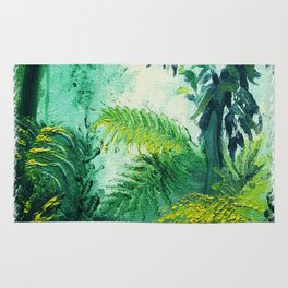 Rainforest Lights and Shadows Rug