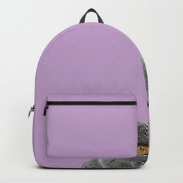 Lavender Home Decor Lilac Decoration British Short haired Cat Bag Pastel Colors Backpack