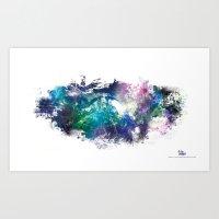 Conscious Wire Art Print