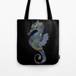 Seahorse Swirls Tote Bag
