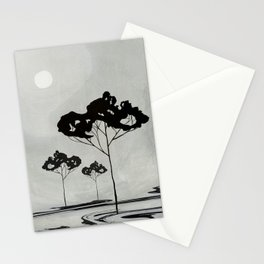Watercolor Trees 17 Stationery Cards