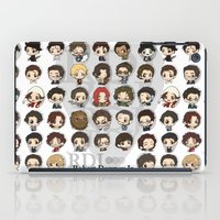 robert downey jr iPad Cases featuring Robert Downey Jr. by Lady Cibia