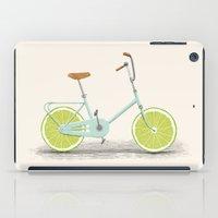 acid iPad Cases featuring Acid (Blue) by Florent Bodart / Speakerine