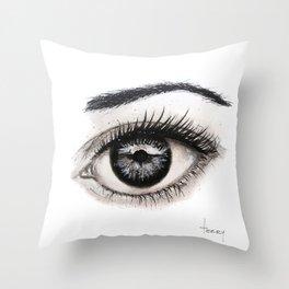 Eye see you Throw Pillow