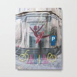URBAN BALLERINA Metal Print
