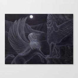 Romancing the Stone Canvas Print