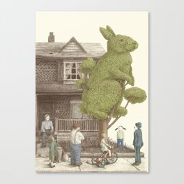 The Rabbit Tree Canvas Print