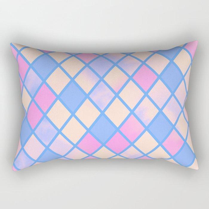.BlueDiamonds. Rectangular Pillow