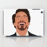 robert downey jr iPad Cases featuring Robert Downey Jr. by Kaylabeaisaflea