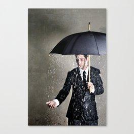 The Pessimist Canvas Print