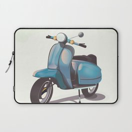Vintage Scooter Laptop Sleeve