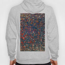 Abstract Composition 473 Hoody