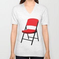Folding Chair Unisex V-Neck