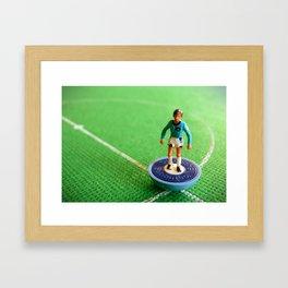 Manchester City Subbuteo Player 1989 Framed Art Print