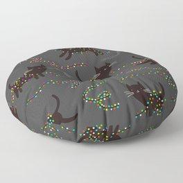 Christmas Cats Floor Pillow